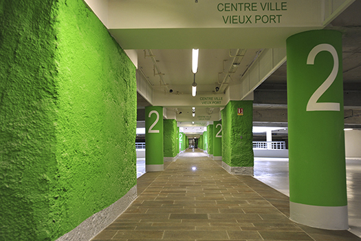 23	Parking souterrain Saint Nicolas